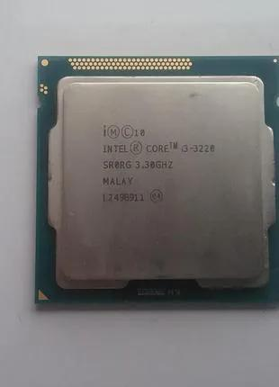 Процессор DualCore Intel Core i3-3220, 3300 MHz , s1155
