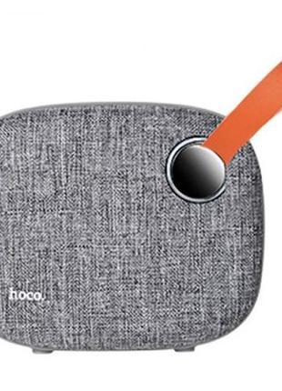 АКЦИЯ!!! Портативная колонка Hoco BS8 Bluetooth Speaker Gray
