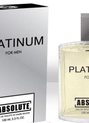 Мужская Туалетная Вода Platinum Absolute