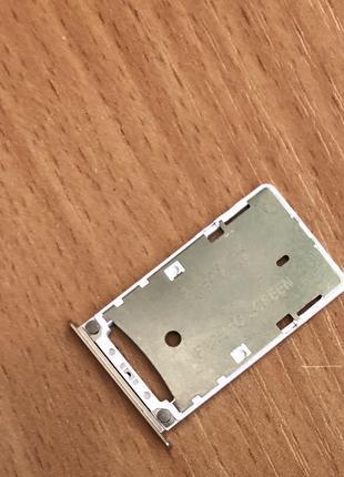 Оригинальный лоток сим Xiaomi Redmi 4X