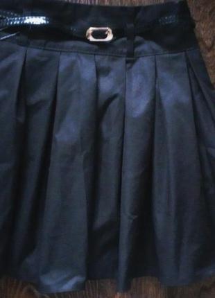 Школьная юбка с поясом. польша