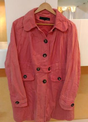 Next фирменная куртка пальто плащ парка коттон
