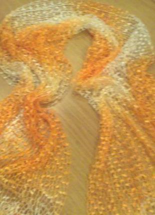 Нежный шарф шаль