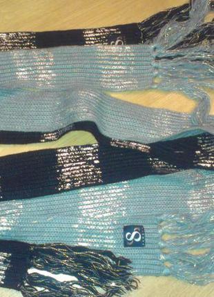 Стильные шарфы - 2 штуки!! франция!!!!!!
