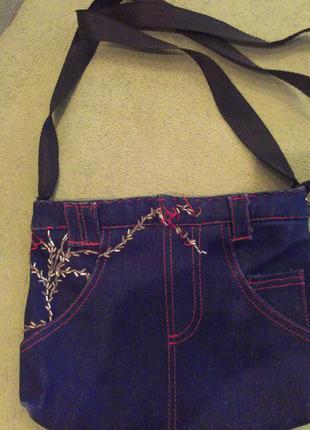 Авторская сумка-шорты hand-made
