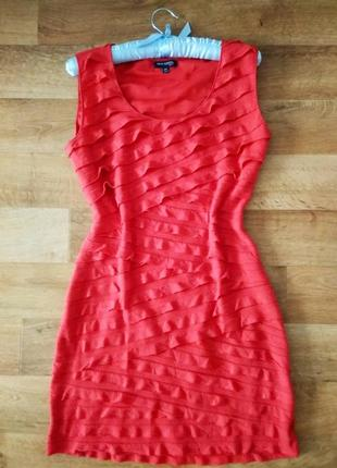 Платье с рюшами max edition