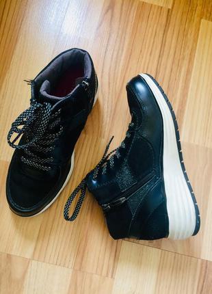 Кросівки кросовки шкіра