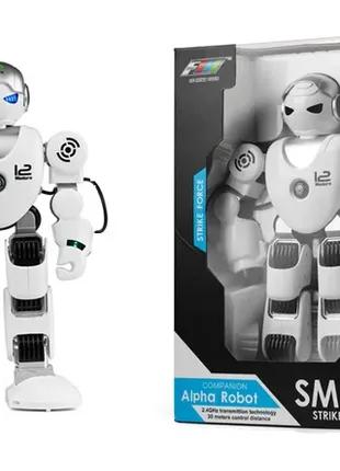 """Детский умный Робот на пульте """"Alpha Robot Smart Strike Force"""""""