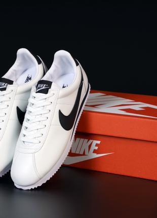 Мужские кроссовки NIke Cortez White | Демисезон: 40-44.