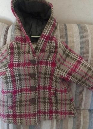 Супер пальто для модной малышки