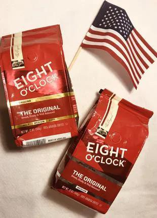 Зерновой молотый кофе EIGHT O'clock Original USA, Кава з сша