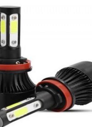 Комплект LED ламп F7 H11