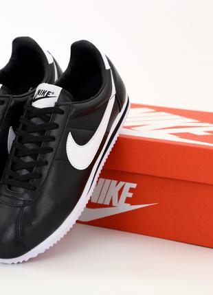 Мужские кроссовки NIke Cortez Black | Демисезон: 40-44.