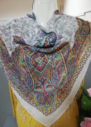 Нежный легкий платок индия