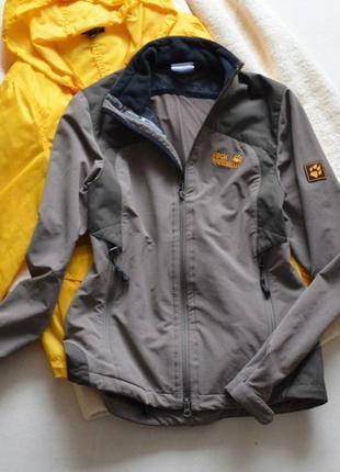 Куртка-ветровка jack wolfskin