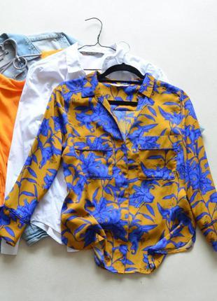 Шикарная блуза трендового цвета нм