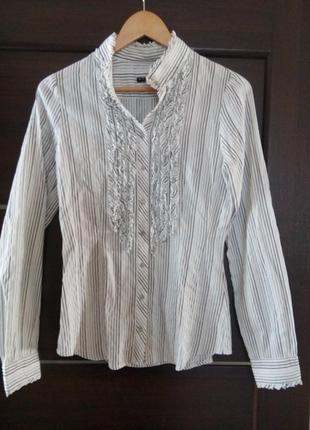 Блуза рубашка sisley оригинал