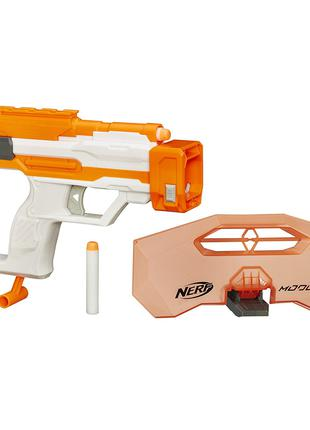 Оригинал Hasbro Бластер Nerf modulus strike and defend upgrade ki