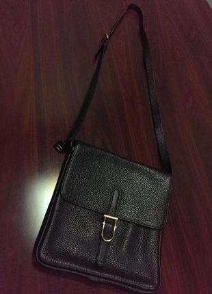 Delvaux кожаная сумка - планшет