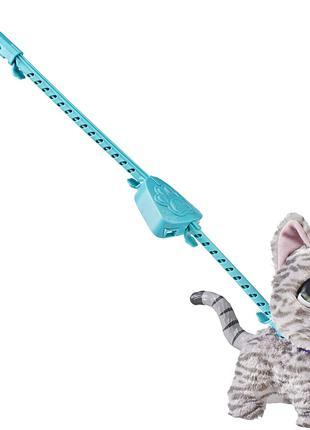 Большой питомец на поводке Кошка furReal Walkalots Big Wags,Kitty