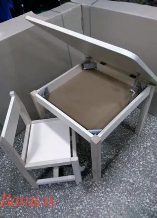 Детский стол стул. Комплект столик и стульчик