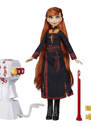 Кукла Disney Hasbro Холодное сердце 2 Магия причесок Анна