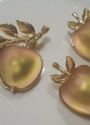 Винтажный сет от Sarah Coventry  Наливное яблочко