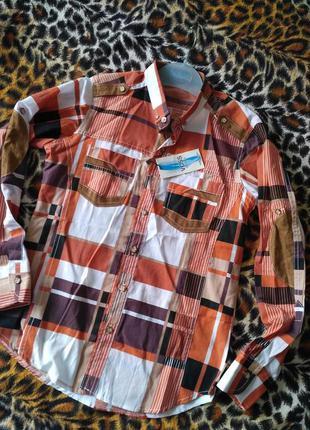 Рубашка. подросток. турция voss +-164