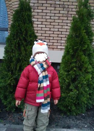 Куртка холодная осень, зима 74-86 см