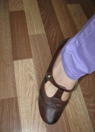 Туфли кожа 38-39 р