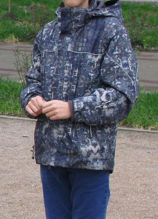 Куртка еврозима, лыжная, холодная осень, весна