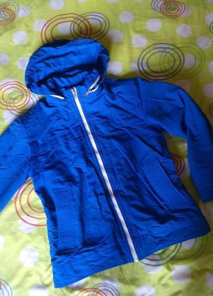 Куртка демисезонная. куртка 11-13 лет 140-152 см  девочка, мал...