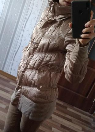 Куртка демисезонная, теплая зима. состояние класс xs-m