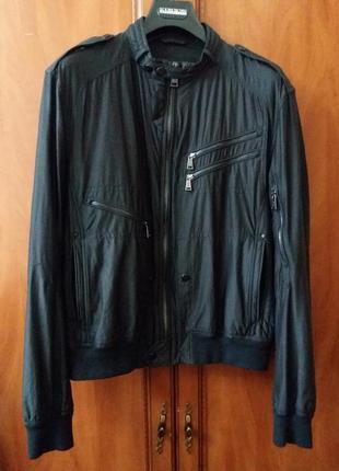 Байкерская куртка от ralph lauren black label