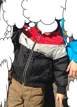 Куртка холодная весна, осень, демисезонная 2- 3 года 86-98 см