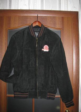 Куртка oscar piel. usa кожа. ну-бук. замша