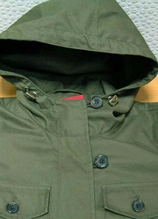 Длинная куртка с капюшоном от hugo boss