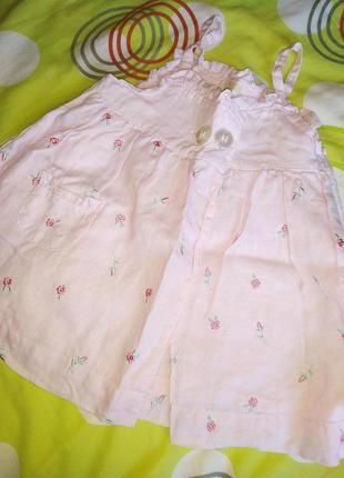 Платье, сарафан 3-9 мес