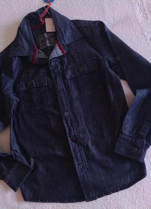 Рубашка. новая. 9-10 лет