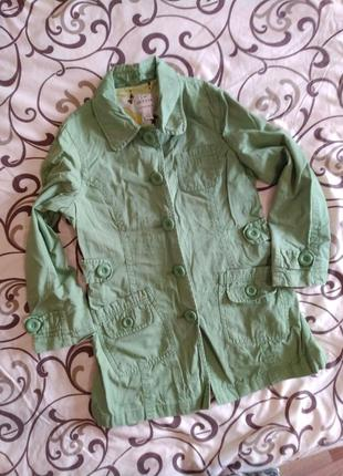 Плащ.пальто осень, весна 6-8 лет 122-128 см