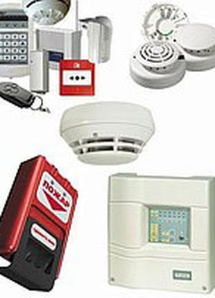 Проект, монтаж, наладка охранной пожарной сигнализации под ключ.