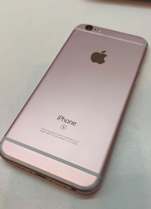 IPhone 6s 64gb rose gold neverlock