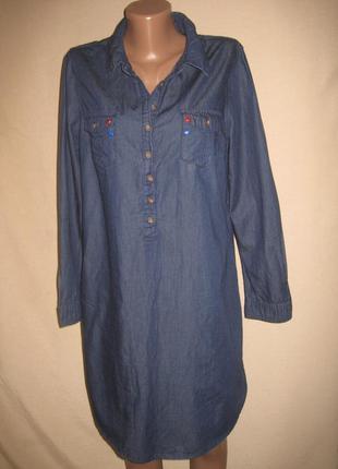 Тонкое джинсовое платье george р-р14