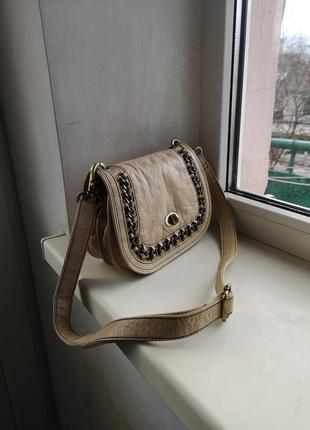 Кожаная сумка avant-premiere