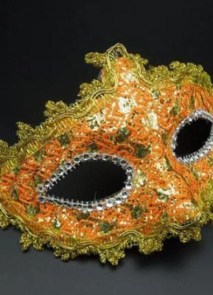 Маска карнавальная женская 4035-34
