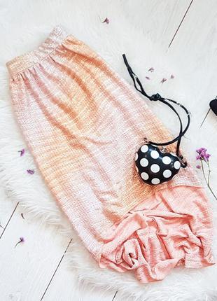 Оригинальная ассиметричная юбка-миди miss selfridge