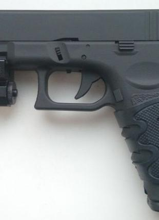 Страйкбольный пистолет Glock 18C (предохранитель, затворная за...