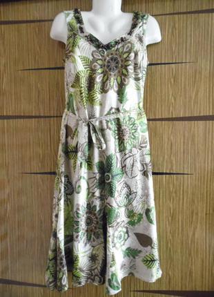 Платье лето, новое per una размер 12 – идет на 46-48.