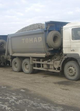 Щебень Херсон от 25 тонн