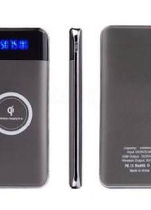 Зарядное устройство УМБ с функцией беспроводной зарядки QI 10000